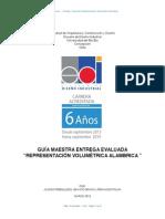 Guía Maestra Entrega REPRESENTACIÓN VOLUMETRICA ALAMBRICA