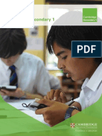 122976 Cambridge Secondary 1 Brochure