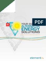 e14 Alternative Energy eBook SG