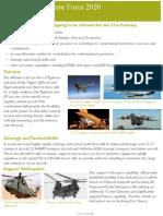 Future Force 2020 - RoyalAirForce