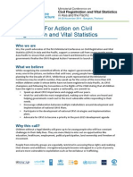 CRVS Youth Call to Action