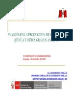 1. Avances en La Producción de Semilla de Quinua y Otros Granos Andinos