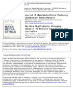 FairfieldShtein2013-Big Data, Big Problems- Emerging Issues in the Ethics of Data Science and Journalism