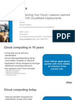 Architecting an IaaS Cloud - CCR NL FR UK