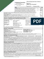 MSDS Sulfuric Acid