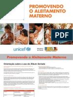 ALBUM SERIADO UNICEF SOBRE O ALEITAMENTO MATERNO