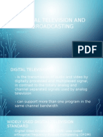 Digital Television and Broadcasting