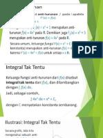 anti turunan dan persamaan differensial