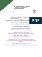 Programme Sheet
