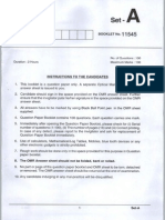APTRANCO Sub Engg_Electrical QP-2012