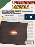 Ovni Fotografiado en Tlaxcala R-080 Nº020 - Reporte Ovni