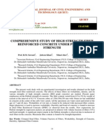 Comprehensive Study of High Strength Fiber Rienforced Concrete Under Pull Out Strength