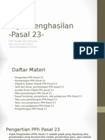 Materi PPh Pasal 23