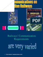 SPST-S&T-Telecom on Indian Railways