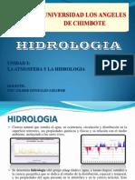HIDROLOGIA CLASE 1 La Atmosfera y La Hidrologia