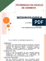 HIDROLOGIA CLASE 2 La Cuenca Hidrografica