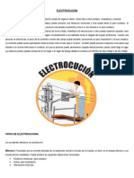 Electrocución PRIMEROS AUXILIOS