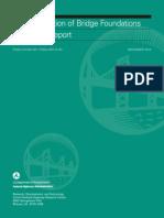 FHA WR Characterization of Bridge Foundations
