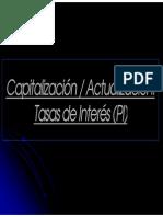 Capitalización - Actualización (Clase 1) Scrib