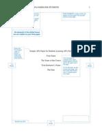 Apa Sample Paper 6th Ed