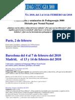 NOEMI PAYMAL EN ESPAÑA-PEDAGOGIA3000
