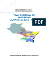 Plan Regional de Seguridad Ciudadana 2015-CUSCO