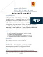 Proyecto Retiro2015