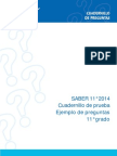 Cuadernillo Saber 11 2014 (1)
