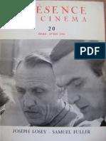 Présence du Cinéma