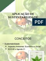 Aplicação de Sustentabilidade