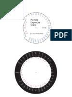 Pinhole Exposure Scale