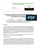 Selective Harmonic Elimination Switching Strategy for Back to-back Stacked Multicell Converter