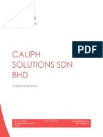 Caliphs Solution Company Profile - Kursus Asas Website