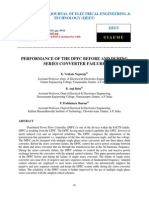 Performance of the Dpfc Before and During Series Converter Failure