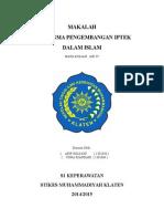 Paradigma Pengembangan Ipteks Dalam Islam