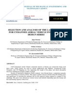 Selection and Analysis of the Landing Gear for Unmanned Aerial Vehicle for Sae Aero Design Series