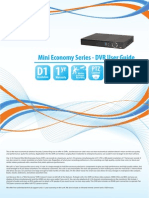 Mini Economy Series - DVR User Guide