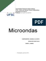 Relatório de Laboratório - Microondas