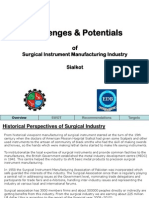 Challenges & Potentials of Surgical Industry Presentation