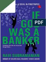 If God Was a Banker - Ravi Subramanian