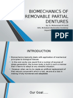 Biomechanics of Removable of Partial Dentures