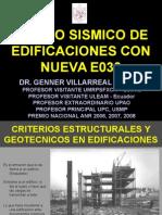 Diseño Sismico de Edificaciones E030