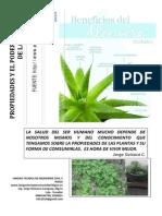 Propiedades Nutricionales de Las Plantas