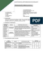 Programacion Curricular Anual de Pfrh Ccesa1156