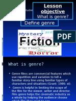 Genre Theory 1