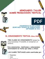 Presentacion Conocimiento Textual