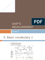 Ships Measurement