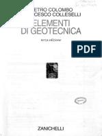 Indice Elementi Di Geotecnica colombo