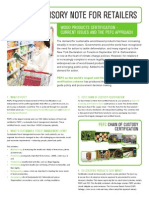 PEFC Retailer's Factsheet (Supermarket)