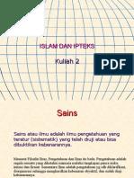 Ipteks Dan Seni Dlm Islam